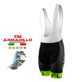 CYCLING BIB SHORT SILA FLUO STYLE 3 Plus - GREEN