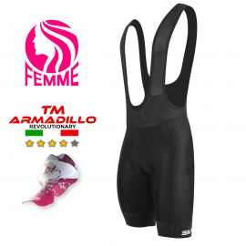 CYCLING BIB SHORT WOMEN SILA PREMIUM CLASSIC - BLACK