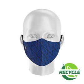 Masque tissu SILA BUNCH BLEU MARINE - Forme Ergo - Filtration 1 - UNS1