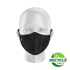 Fabric Mask SILA BUNCH BLACK - Ergo Shape - Filtration 1 - UNS1
