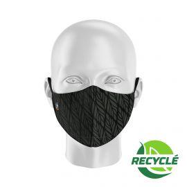 Masque tissu SILA BUNCH NOIR - Forme Ergo - Filtration 1 - UNS1