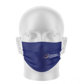 Masque tissu personnalisable - TRANSPORT ALLIANCE - UNS1 - Forme Plat
