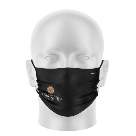 Masque tissu personnalisable - TRANSPORT ALLIANCE - UNS1 - Forme Plat