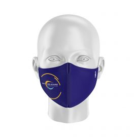 Masque tissu personnalisable - CC PAYS DES ACHARDS - UNS1 - Forme Coquille