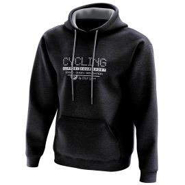 HOODIE SILA CYCLING SUPPORT NIGHT BLUE - WOMEN
