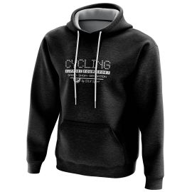 HOODIE SILA CYCLING SUPPORT BLACK
