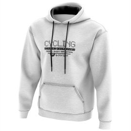 HOODIE SILA CYCLING SUPPORT WHITE