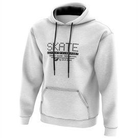 HOODIE SILA SKATE SUPPORT WHITE