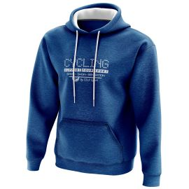 HOODIE SILA CYCLING SUPPORT BLUE
