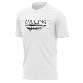 T-SHIRT SILA CYCLING SUPPORT WHITE