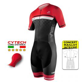 TRI SUITS PRO R-GIRO SILA ELEGANCE STYLE RED - SS