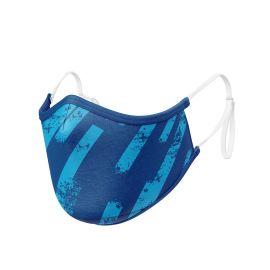 Fabric Mask SILA ZEBRA BLUE ADJUSTABLE - Ergo Shape - Filtration 1 - UNS1