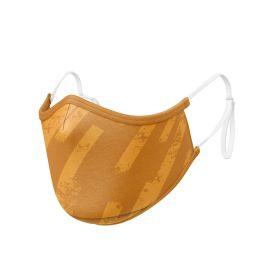 Masque tissu SILA ZEBRA GOLD AJUSTABLE - Forme Ergo - Filtration 1 - UNS1