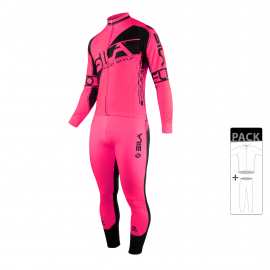PACK ECHAUFFEMENT SILA FLUO STYLE 3 PLUS - ROSE