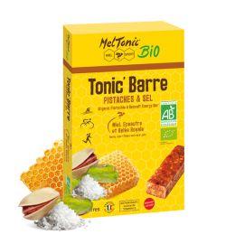 BOX 5 ORGANIC MELTONIC ENERGY BARS - Pistachio and Fleur de sel
