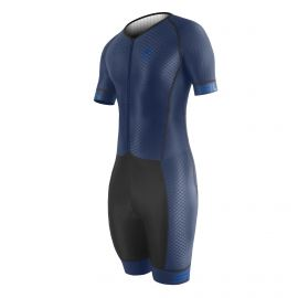 SKATING SUIT SILA SO BLUE NAVY - Short sleeves