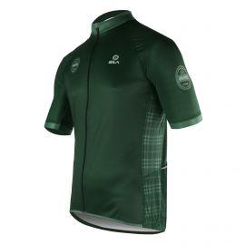JERSEY SILA GRAVEL LINE GREEN - Short sleeves