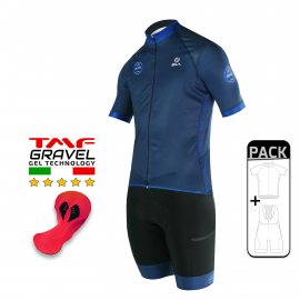 SUMMER CYCLING PACK - SILA GRAVEL STYLE - BLUE