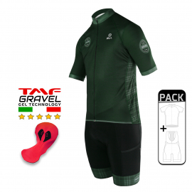 SUMMER CYCLING PACK - SILA GRAVEL STYLE - GREEN