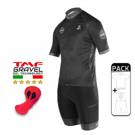 SUMMER CYCLING PACK - SILA GRAVEL STYLE - GREY