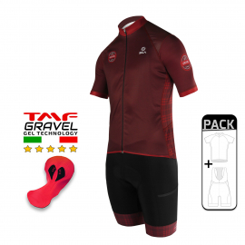 SUMMER CYCLING PACK - SILA GRAVEL STYLE - RED
