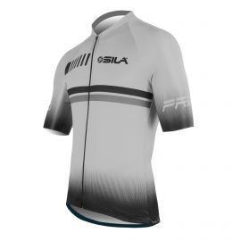 MAILLOT SILA PASTEL STYLE - GRIS - Manches courtes
