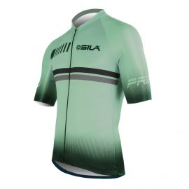 MAILLOT SILA PASTEL STYLE - VERT - Manches courtes