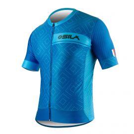 JERSEY SILA CLASSY STYLE BLUE - Short sleeves