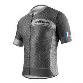 JERSEY SILA CLASSY STYLE GREY - Short sleeves