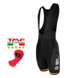 CYCLING BIB SHORT SILA PULSE STYLE - RED FIRE