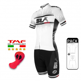 PACK ETE CYCLISME SILA PULSE STYLE - BLANC SNOW