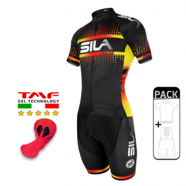 PACK ETE CYCLISME SILA PULSE STYLE - ROUGE FIRE