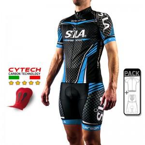 PACK ÉTÉ Cyclisme - CARBON STYLE BLEU