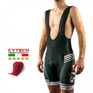 CYCLING SHORT CARBON STYLE WHITE