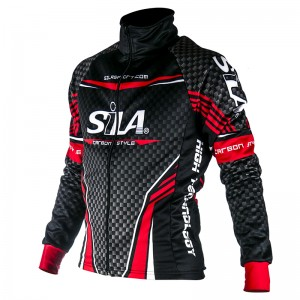 WINTER THERMAL JACKET CARBON STYLE RED
