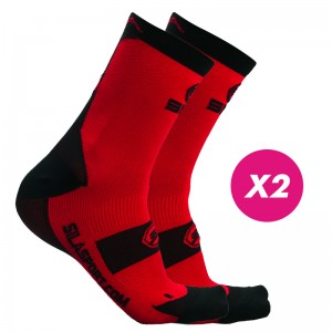 PACK PROMO SOCKS RED / NOIR