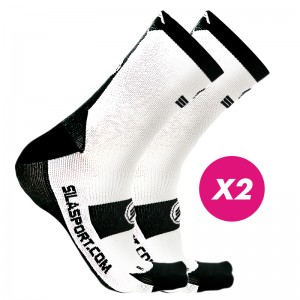 PACK PROMO SOCKS WHITE / NOIR