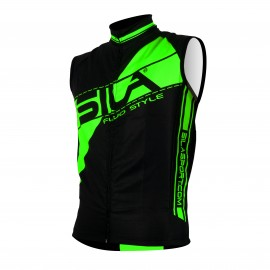GILET COUPE VENT SILA FLUO STYLE 3 VERT