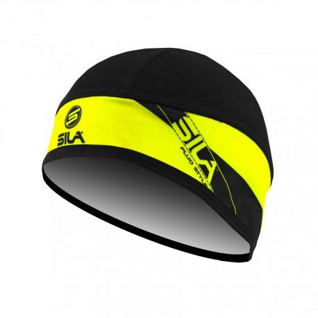 HATS - HIDE NECK multifunction SILA - BLACK / WHITE
