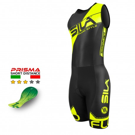 TRIFONCTION SILA FLUO STYLE 3 JAUNE - HOMME - SM