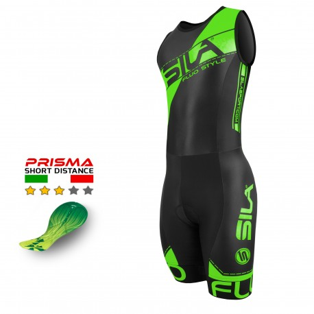 TRIFONCTION SILA FLUO STYLE 3 VERT - HOMME - SM