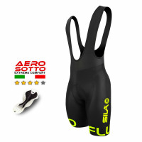 CUISSARD CYCLISME FLUO STYLE 2 YELLOW
