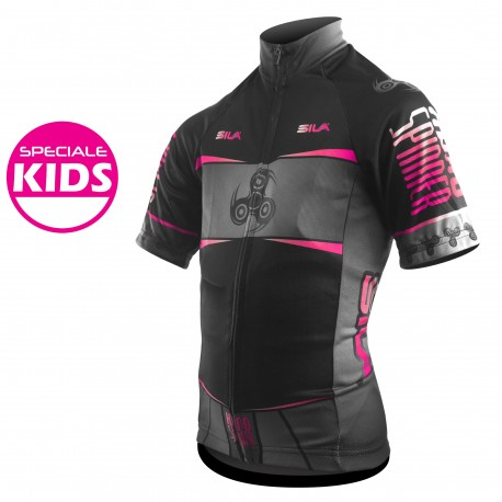 MAILLOT KIDS HEROS GIRL SPINNER - Manches courtes